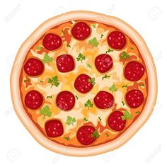 pizza dibujo - Buscar con Google