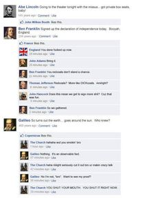 If they had facebook!