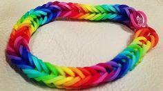 Rainbow Loom Patterns: Fishtail Rainbow Loom Pattern (youtube tutorial)
