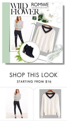 """""""Romwe 3"""" by amelaa-16 ❤ liked on Polyvore featuring romwe"""