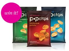 enter for a chance to win a case of #popchips from @Bethenny Frankel