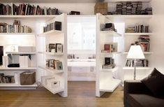trendy home library bookshelves hidden rooms Home Library Decor, Home Library Design, Library Furniture, Home Libraries, House Design, Library Ideas, Home Decor, Library Table, Dream Library