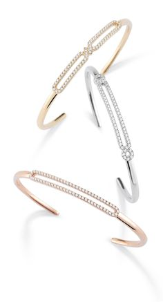 Check out these new Isabelle Brooke diamond cuffs. Perfect for the office to a girls night out and everything in-between! #diamonds #bracelets #danarebecca