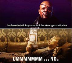 Avengers and Sherlock Meme