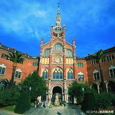 カタルーニャ音楽堂とサン・パウ病院(スペイン)