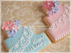 【アイシングクッキー】ケーキデザイン追加 |*atelier SOLEIL* 大阪・北摂・豊中 ソープカービング&アイシングクッキー&ケーキポップス教室