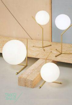 Ic-Lights T - Ic-Lights T da Flos :: O desenho inovador de Michael Anastassiades num candeeiro simples mas luxuoso