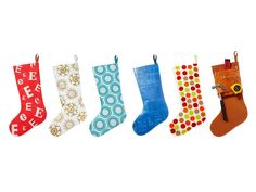 HGTV Magazine helps you create made-from-scratch stockings with two templates.