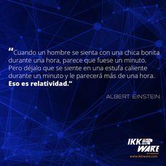 Relatividad... #Ikkiware #Relatividad #AlbertEinstein #FelizDomingo