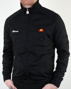 Ellesse Rimini Track Top Black/Black,tracksuit,jacket,mens