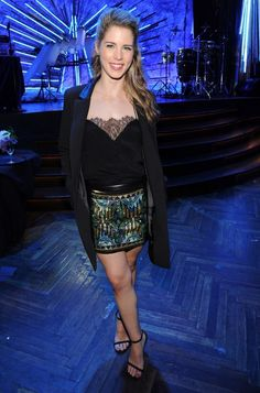 Emily Bett Rickards attends The CW Network's 2014 Upfront party at Paramount Hotel on May 2014 in New York City Arrow Felicity, Felicity Smoak, Emily Bett Rickards, Miley Cyrus, Celebrity Feet, Celebrity Crush, Vancouver, Julie Walters, Supergirl And Flash