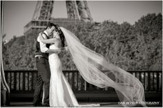 TRASH THE DRESS IN PARIS – FLÁVIA & DULLIO