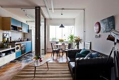 APARTAMENTO JOVIAL E URBANO EM PLENA PRAÇA ROOSEVELT  #Apartamento #Arquitetura #Decoração #Projeto