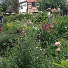 Amazing front garden - cottage garden at its best!