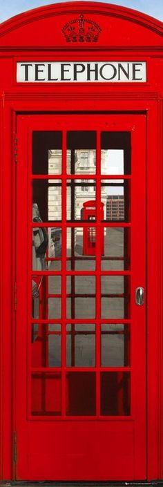 LONDON TELEPHONE BOX  - Europosters