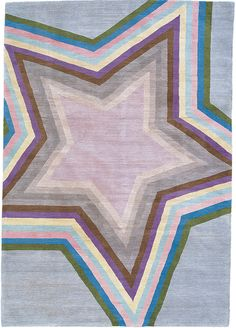 Star Light Blue by Paul Smith for The Rug Company