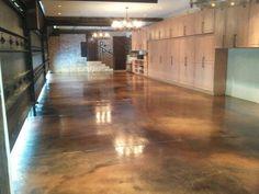Black Concrete Floors Max Power Concrete Columbus OH Decorating