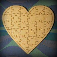 Hledání zboží: puzzle / Ze dřeva / Materiál vlastnoručně vyráběný | Fler.cz Cookie Cutters, Puzzle, Handmade, Puzzles, Hand Made, Puzzle Games, Handarbeit, Riddles