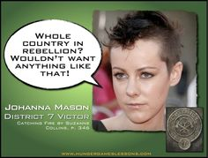 Hunger Games Lessons: The Hunger Games: Catching Fire Casting Updates - Jena Malone for Johanna Mason. Yep, I can totally picture her as Johanna. #CatchingFire