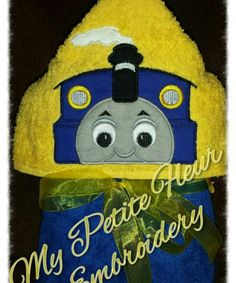 5 x 7 Big Blue Train by MyPetiteFleurDesigns on Etsy Embroidery Files, Machine Embroidery, Embroidery Designs, Book Pillow, Boy Girl Twins, Blue Train, 3 D, Applique, Teddy Bear