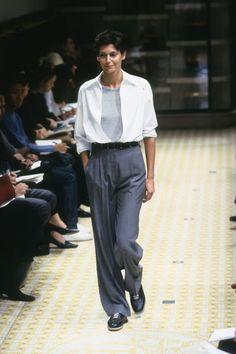 [Hermès] SPRING 1999 READY-TO-WEAR 90s Fashion, Retro Fashion, Runway Fashion, Fashion Show, Fashion Outfits, Womens Fashion, Fashion Design, Looks Style, My Style