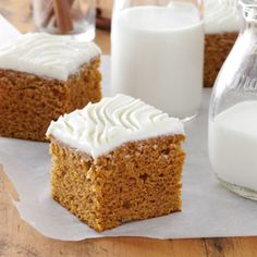 Harvest Pumpkin Brownies, very tasty and great for a large group.