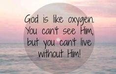 God oxygen