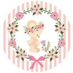 Kit Festa pronta Ursinha Princesa grátis para baixar e imprimir - Cantinho do blog