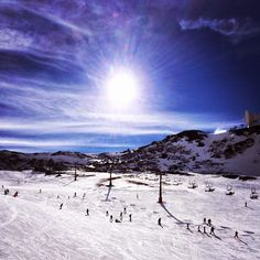 One of the slopes of the Sierra Nevada. Not that far from La Estrella de Cómpeta.