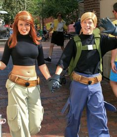 Kim Possible and Ron Stoppable
