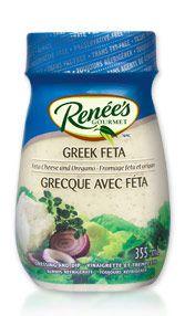 RENÉE'S® GREEK FETA DRESSING