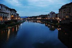 #Italy is crossed by many charming #rivers which offer a natural scenic beauty. The longest ones are located in the northern Italy, because the #Apennines split the country in two parts. Arno Florence