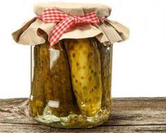 Recette de Pickles de cornichons Pickles, Low Carb, Jar, Conservation, Canning Jars, Preserves, Pickle, Jars, Glass