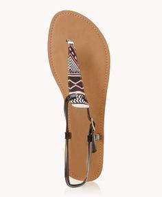 Tribal sandals!!