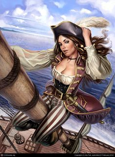 Pirate Girl, Aly Fell