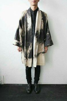 Bleached oversized jacket #mensfashion #menswear #textiledesign