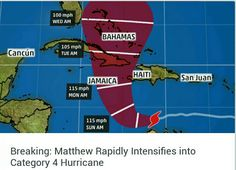 IF YOU HAVE FRIENDS IN:  Jamaica, Haiti, Cuba, or the Bahamas, please call them. Tell them to be safe.
