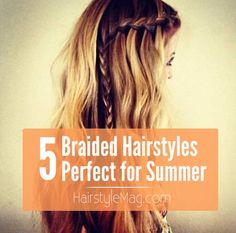 5 Braided Hairstyles That Are Perfect for Summer   HairstyleMag