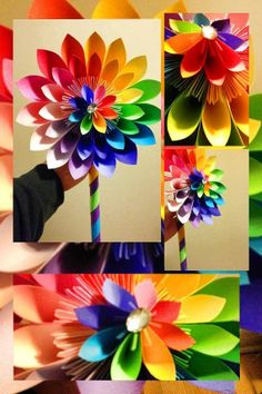 Extra Large Paper Bouquet Paper Flower by PrettyPaperFlower, $45.00
