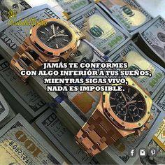 Si tienes tus objetivos claros, tus metas bien trazadas , lucha por ellos y NO TE RINDAS! 💰💰😎👔💪 #siguemeytesigo : @club.del.exito ( #instagood ) ClubdelÉxito ( #facebook #pinterest ) #clubdelexito . #motivacion #motivacionmillonaria #emprendedores #tiempo #time #rolex #oro #gold #watches #reloj #lujo #dolartoday #dólares #likeforlike #followme #luxurylife #luxury #lider