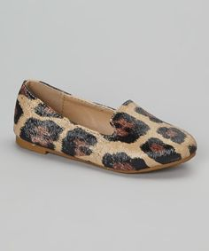 Love this Brown Cheetah Kylie Loafer by COCO Jumbo on #zulily! #zulilyfinds