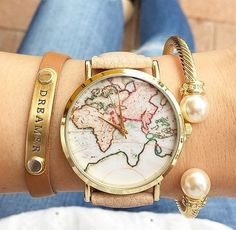 montre-carte-monde-2017-beige