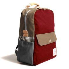 Rucksack - Rot von Drife   MONOQI #rucksack #bagpack
