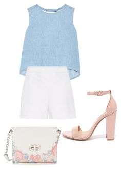 """Sin título #175"" by winterbirds on Polyvore featuring moda, Steve J & Yoni P, Hallhuber, Steve Madden y Candie's"