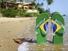 33a83768141 Image result for sao paulo beach Exotic Beaches, Favorite Color, Brazil,  Flip Flops