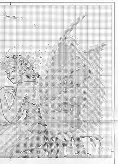 Woodland Fairy - 3/7 Solo Patrones Punto Cruz (pág. 378) | Aprender manualidades es facilisimo.com