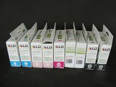 Lot of 9 Epson LD Recycled Black and Color Ink Cartridges Sealed #Epson