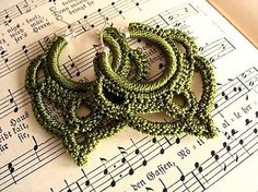 Knit crochet beautiful jewelry. 1 part .. Discussion on LiveInternet - Russian Service Online Diaries