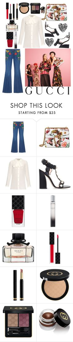 """""""Presenting the Gucci Garden Exclusive Collection: Contest Entry"""" by poorvashikalra ❤ liked on Polyvore featuring Gucci, Lu West and gucci"""