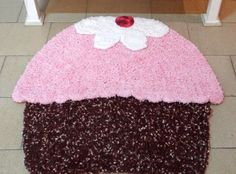 Artesanato com amor...by Lu Guimarães: Tapete Cupcake Em Crochê - Barroco Soft